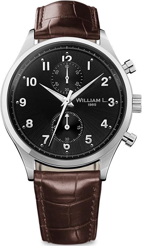 Наручные часы William L Vintage Style Small Chronograph WLAC02NRCM
