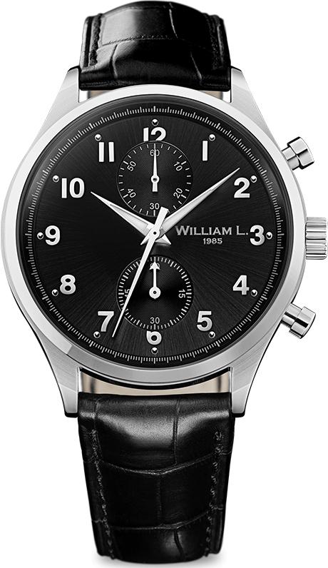 Наручные часы William L Vintage Style Small Chronograph WLAC02NRCN
