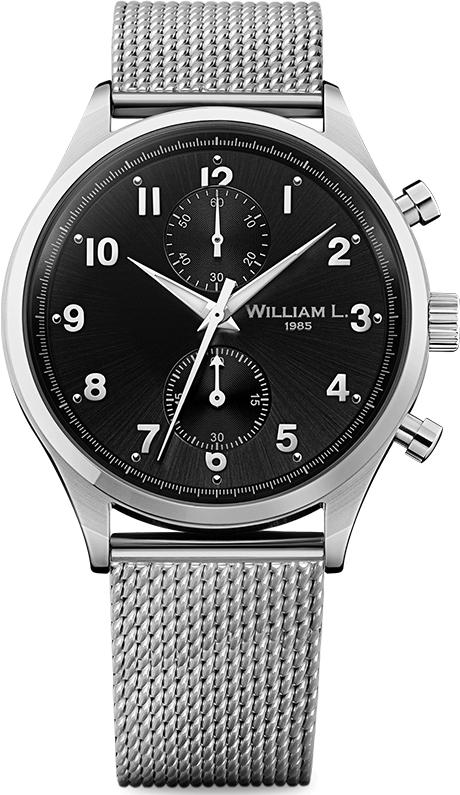 Наручные часы William L Vintage Style Small Chronograph WLAC02NRMM