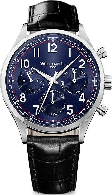 Наручные часы William L Vintage Style Calendar WLAC03BUCN