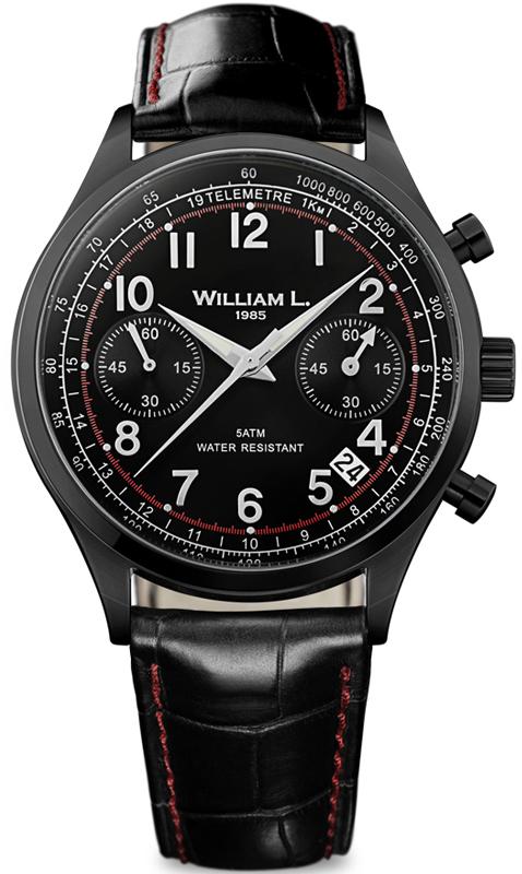 Наручные часы William L Vintage Style Chronograph WLIB01NRCNSR