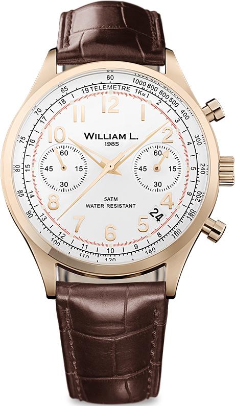 Наручные часы William L Vintage Style Chronograph WLOR01BCORCM