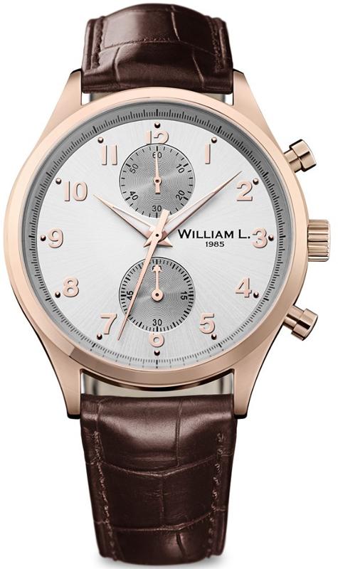 Наручные часы William L Vintage Style Small Chronograph WLOR02GOCM