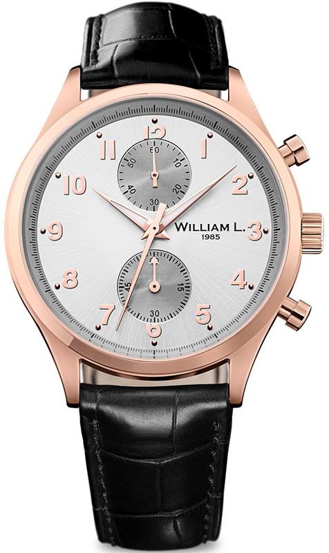 Наручные часы William L Vintage Style Small Chronograph WLOR02GOCN