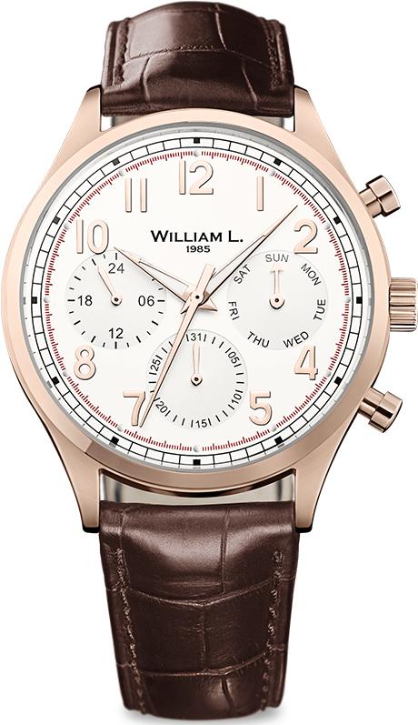 Наручные часы William L Vintage Style Calendar WLOR03BCORCM