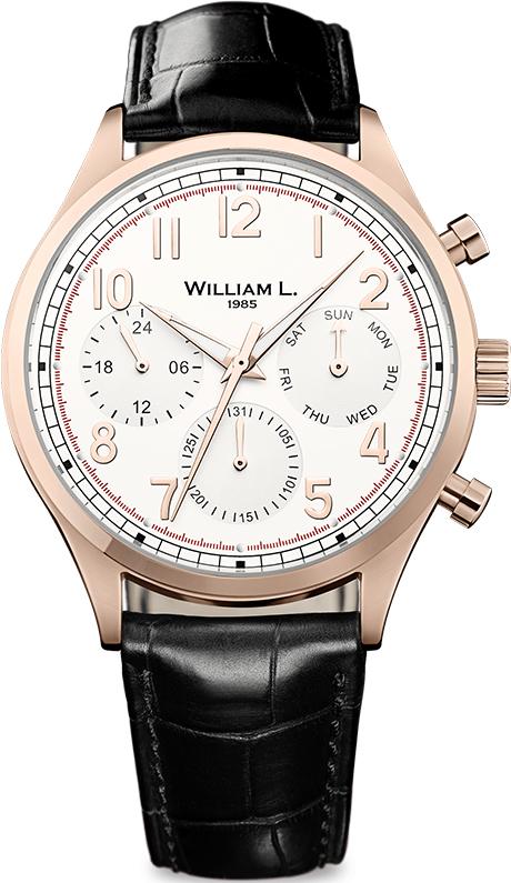 Наручные часы William L Vintage Style Calendar WLOR03BCORCN