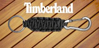 Акция Timberland - карабин с брелком из паракорда в подарок!