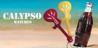 Акция Calypso - к часам стильный брелок-открывашка в подарок!