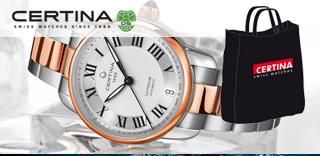 Акция! Купи часы Certina - получи фирменную сумку в подарок